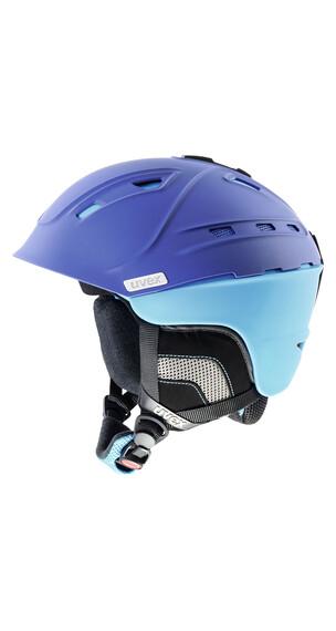 UVEX p2us - Casque de ski - bleu